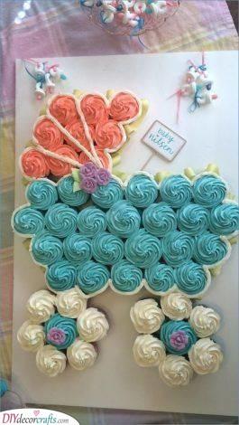 A Cupcake Pram - Great Cake Ideas