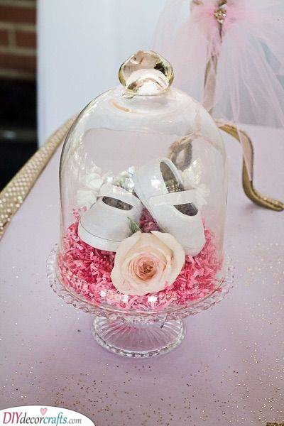 Baby Shoes - Breathtaking Centrepiece for Your Shower