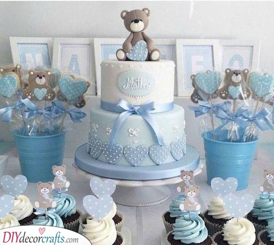 An Array of Sweets - Baby Boy Shower Decorations