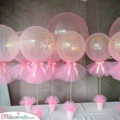 Pretty in Pink - Beautiful Balloons