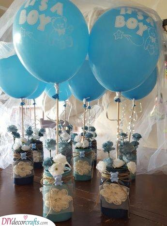 Gender Reveal Moment - With the Help of Balloons