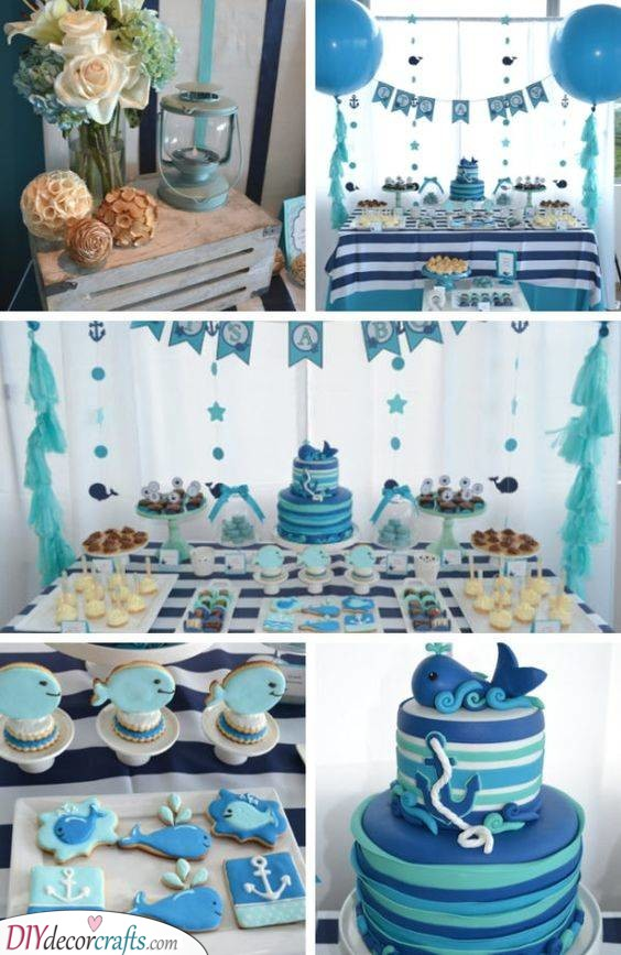 Under the Sea - Nautical Inspired Party