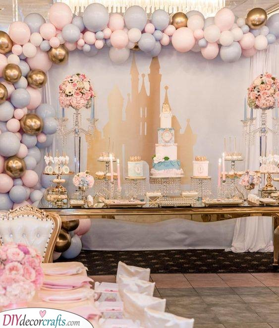 A Princess Party - Baby Shower Themes for Girls