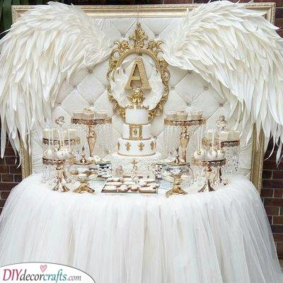 Ethereal Angels - Covered in White