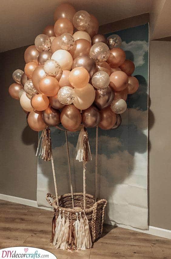Up and Away - Hot Air Balloon Idea