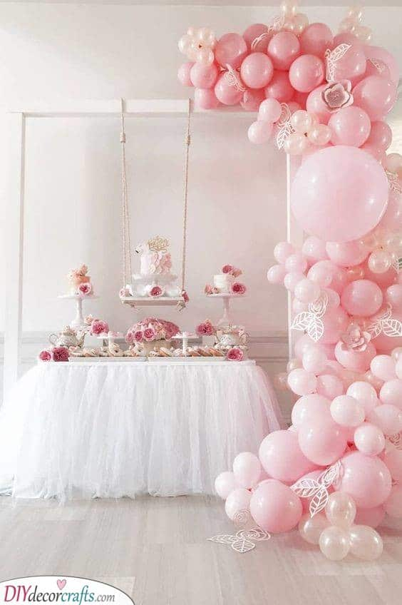 Bubbly Balloons - Perfect in Pink