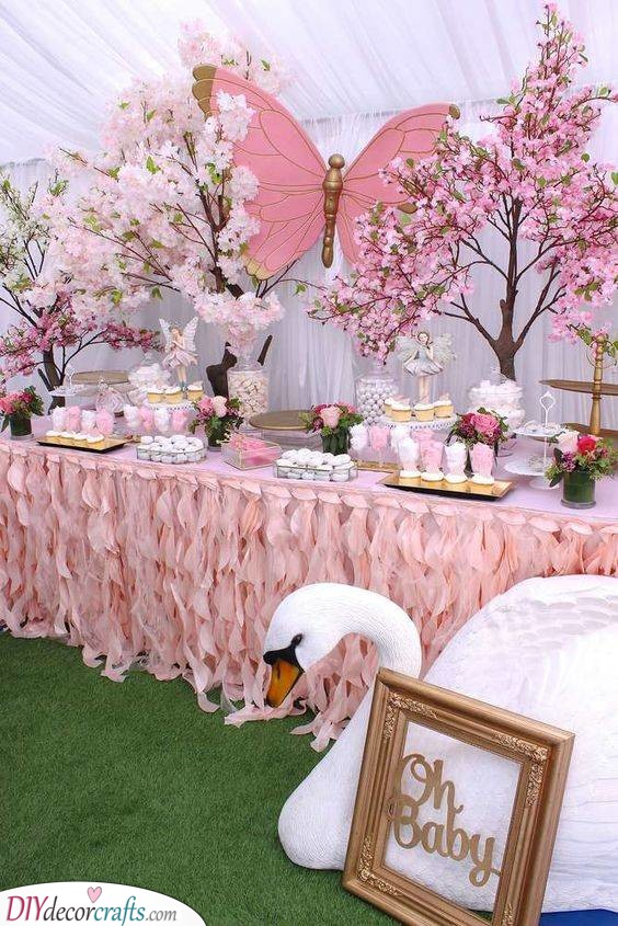 Pretty in Pink- Baby Shower Themes for Girls