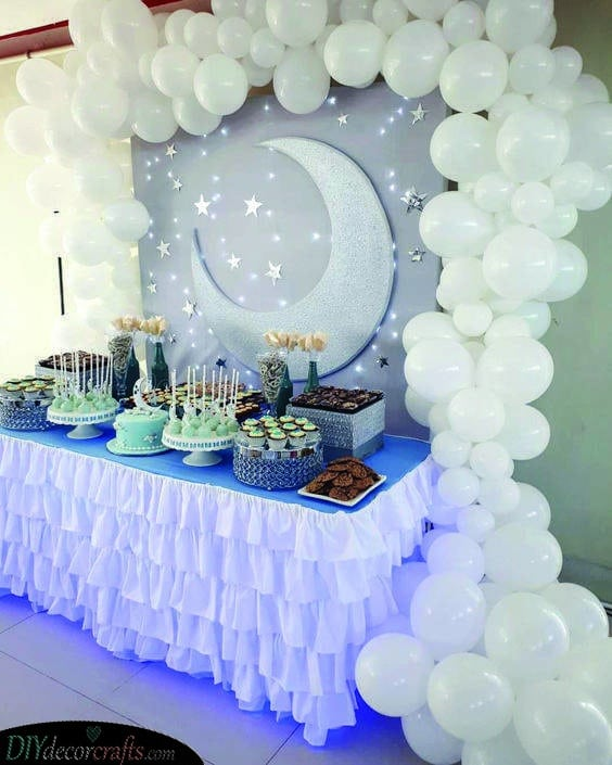 A Sky Full of Stars - Beautiful Baby Shower Themes