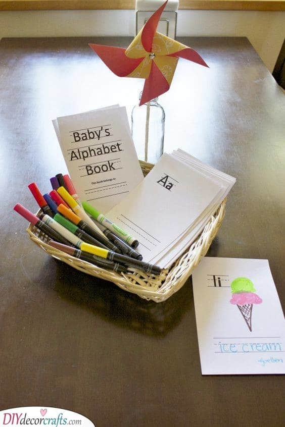 An Amazing Alphabet - Couples Baby Shower Games