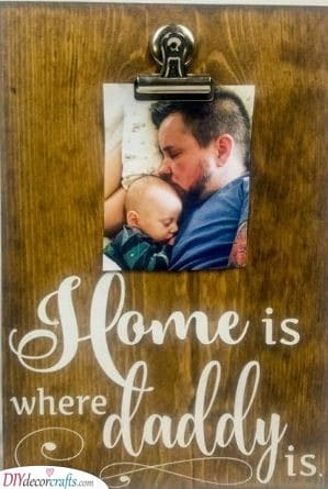 No Place Like Home - Beautiful Present Ideas for Dads