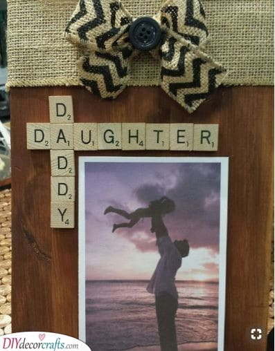 Father and Daughter - DIY Present Ideas for Dad