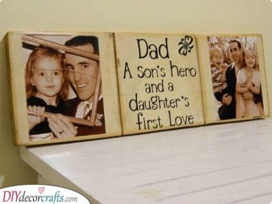 A Hero and a First Love - Gifts for Dad from Daughter