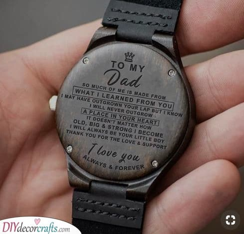 Message to Dad - Retirement Gifts for Dad