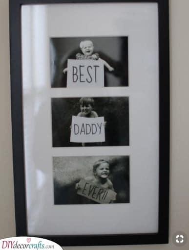 Best Daddy Ever - Photo Idea