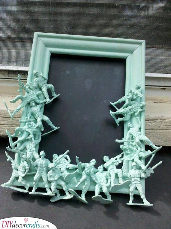 Frame Full of Soldiers - Great Gift Ideas for Men