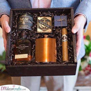 A Box of Everything - Personalised Gifts for Him