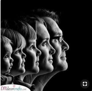Faces of the Family - Photos as Presents