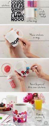 A Handmade Mug - Bubbly and Vibrant
