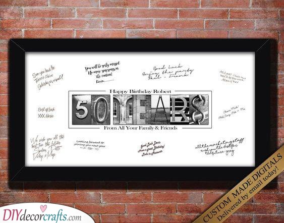 An Exquisite Age - Lovely 50th Birthday Present Ideas