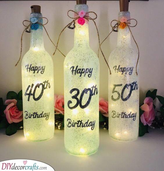 Beams of Light - Fantastic 50th Birthday Present Ideas