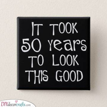 A Funny Sentence - Gift Ideas for 50th Birthdays