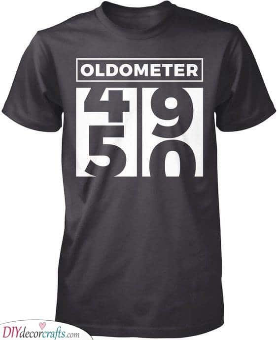 An Oldometer - Gift Ideas for 50th Birthday