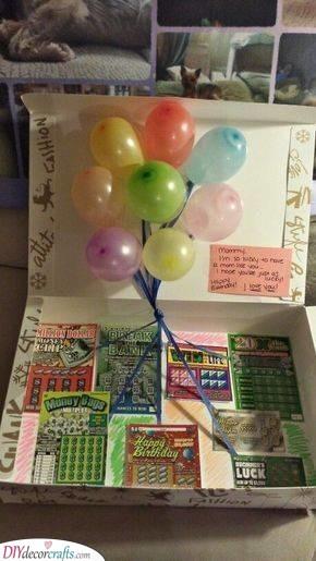 A Winning Lottery Ticket - An Amazing Present