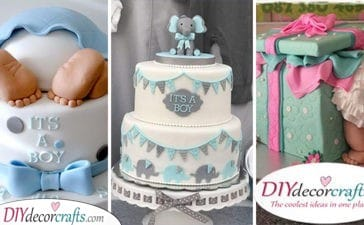 25 FABULOUS BABY SHOWER CAKE IDEAS - Decorate Your Cake