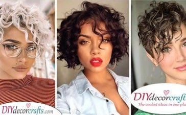 25 HAIRSTYLES FOR SHORT CURLY HAIR - Short Curly Hairstyles for Black Women