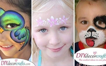 30 IDEAS FOR FACE PAINTING FOR PARTIES - Face Painting for Kids