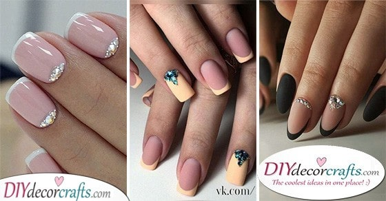 35 BEAUTIFUL FRENCH MANICURE IDEAS - Creating the Perfect Nails