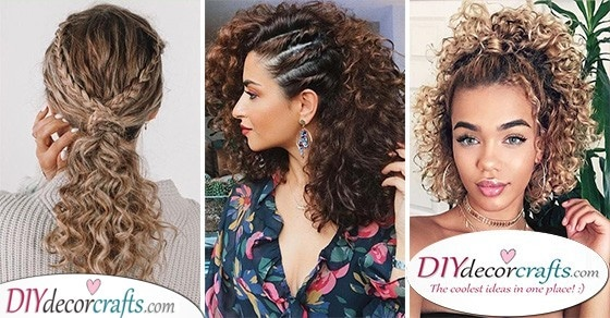 25 BEAUTIFUL HAIRSTYLES FOR GIRLS WITH CURLY HAIR - Hairstyles for Curly Hair Women