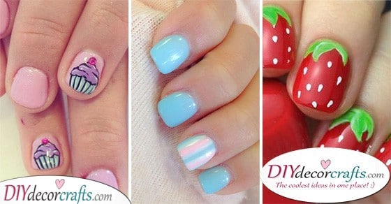 25 CUTE NAILS FOR KIDS - The Best Nail Ideas for Children