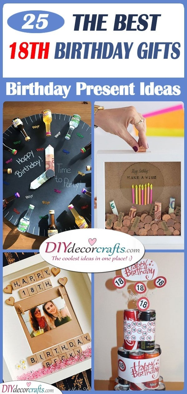 25 18TH BIRTHDAY GIFTS - The Best Present Ideas