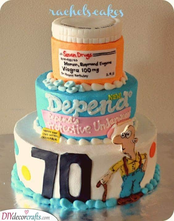 A Funny Cake - The Best Birthday Cakes