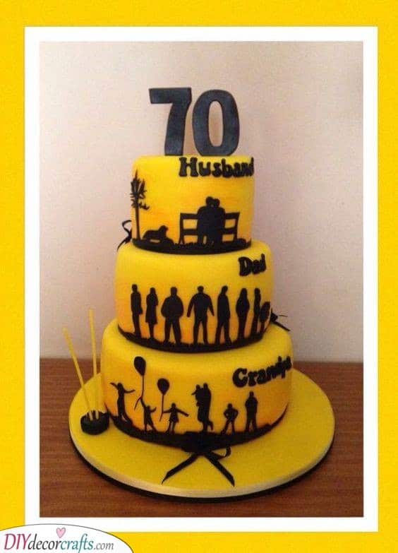 A Picturesque Cake - All the Milestones