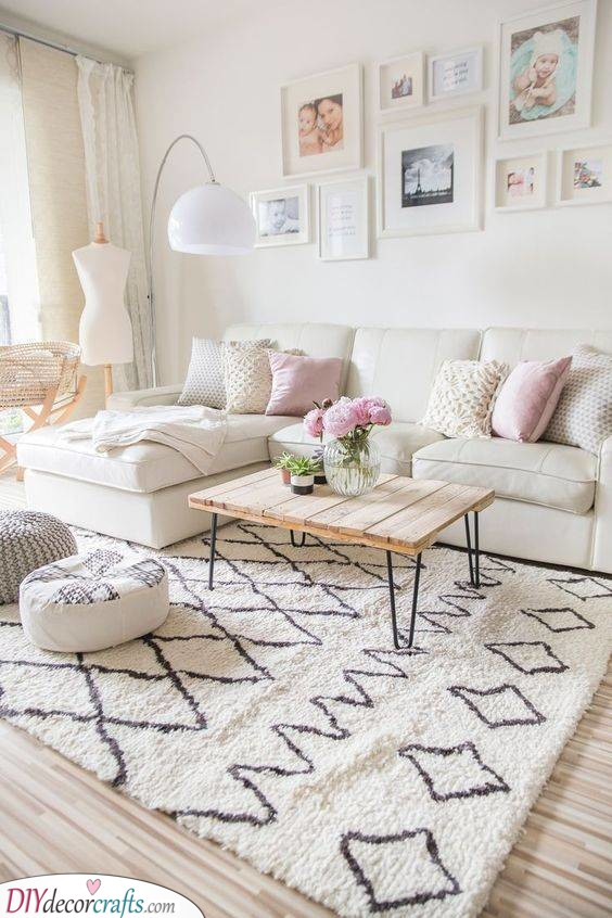 Cosy and Cute - Modern Apartment Living Room Ideas