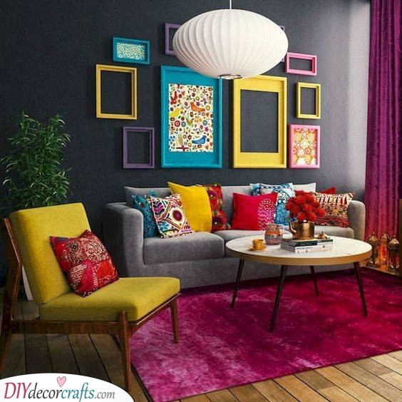 Eclectic Bohemian - Living Room Ideas