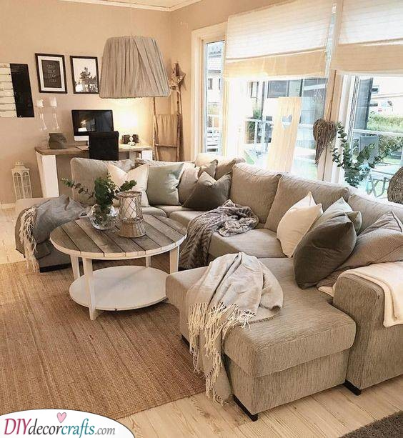 Lovely and Cosy - Apartment Living Room Ideas