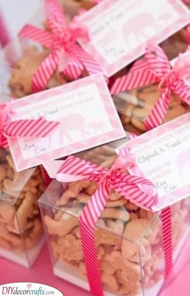 Animal Crackers - Baby Shower Thank You Gifts