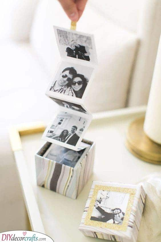 A Box of Photos - Awesome Birthday Present Ideas for Wife