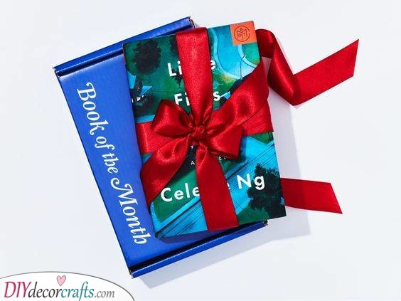 A Monthly Book Subscription - Great for Bookworms