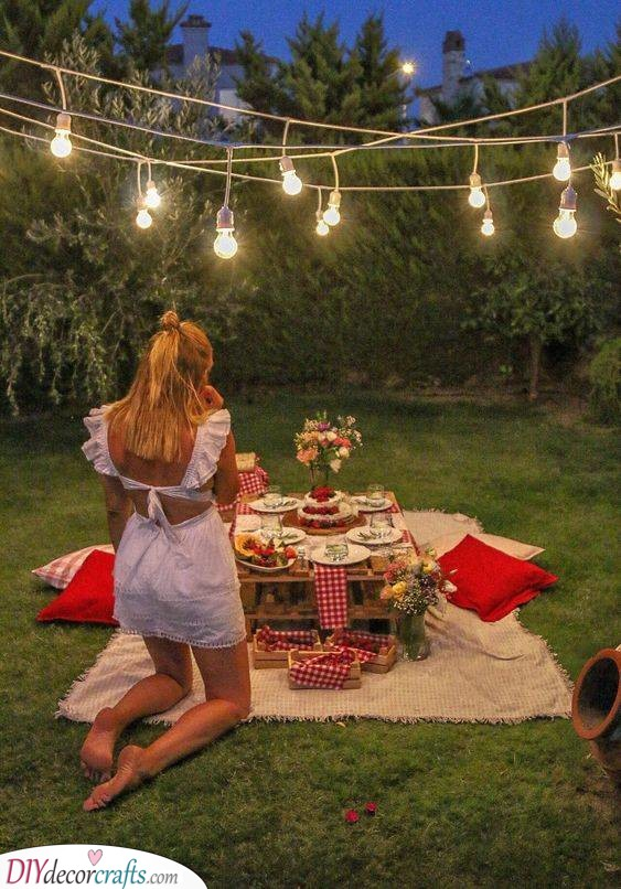 A Romantic Picnic - Best Gift for Wife on Her Birthday