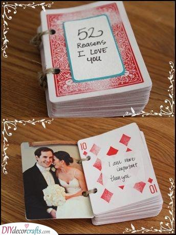 Reasons Why I Love You - A Pack of Cards