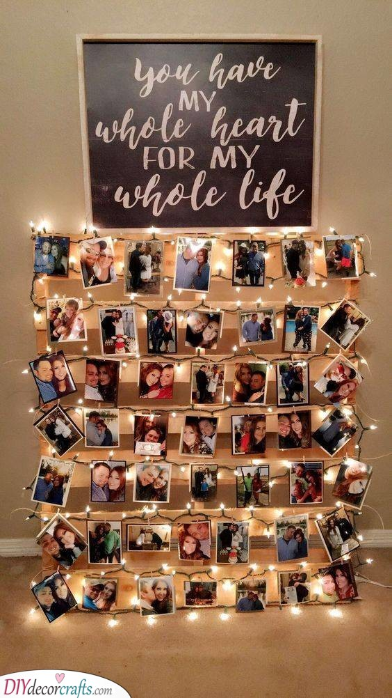 An Array of Photos - Best Gift for Wife on Her Birthday
