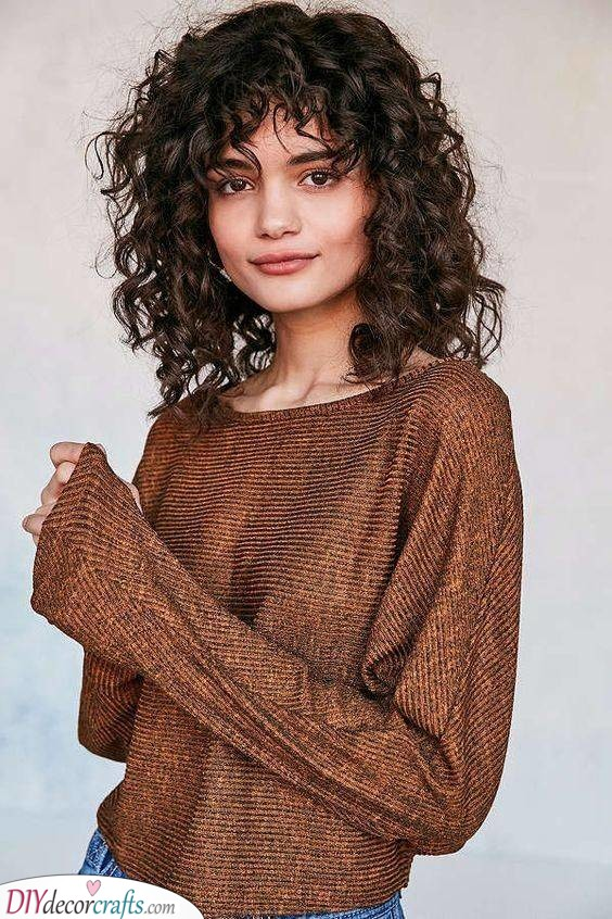 Short and Fun - Simple Hairstyles for Girls with Curly Hair