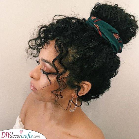 Simple and Cool - A Funky Bun