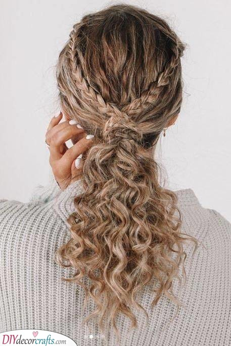 Beautiful Braids - Amazing Hairstyles for Girls with Curly Hair