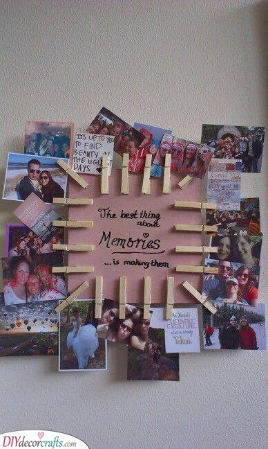 Making Memories - Birthday Present for Brother