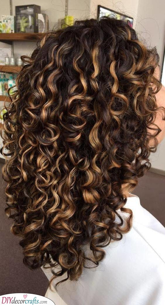 Natural and Fun - Natural Curly Hairstyles for Long Hair